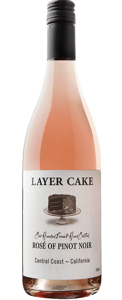 2017 Layer Cake Rose of Pinot Noir, Central Coast, California, 750ml