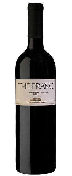 2017 Cosentino Winery THE FRANC, Lodi, 750ml