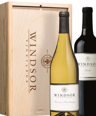 Winemaker's Choice 2-Bottle Collection w/ Wood Box $44.00