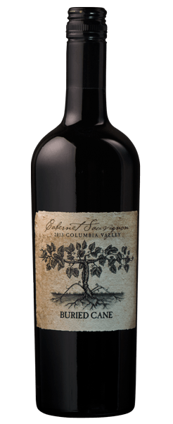 2014 Buried Cane Cabernet Sauvignon, Colombia Valley, 750ml