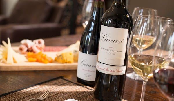 Seated Wine tasting experience