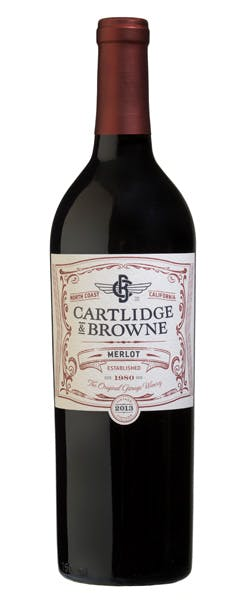 2015 Cartlidge & Browne Merlot, California, 750ml