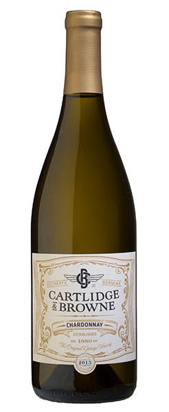2015 Cartlidge & Browne Chardonnay, California, 750ml