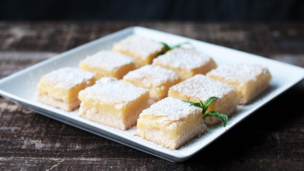 Traditional Lemon Bars Image