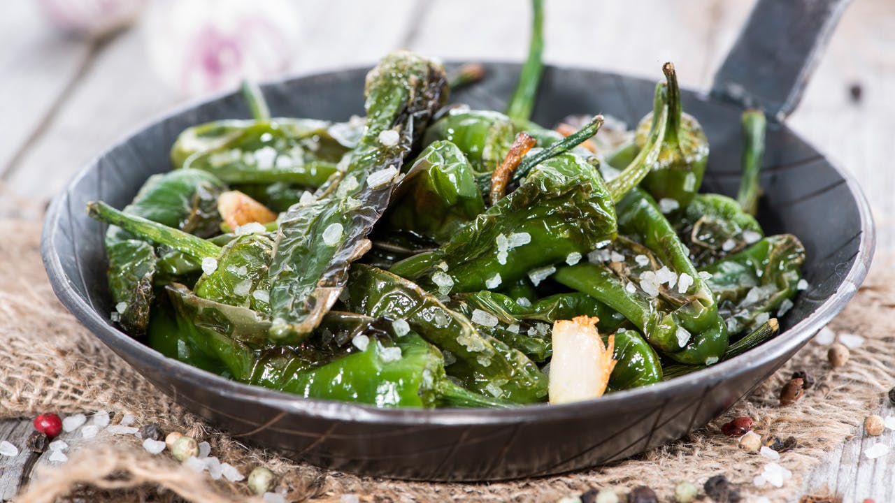 Blistered Shishito Peppers Image