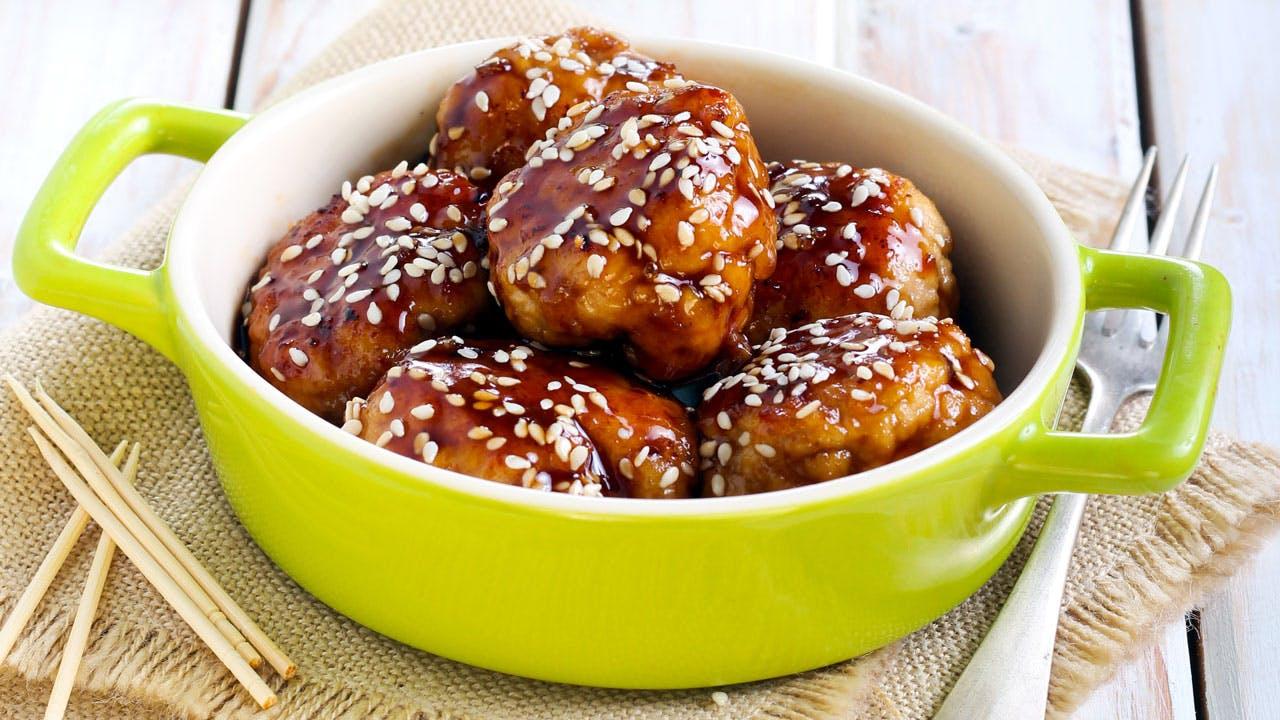 Teriyaki Meatballs Image