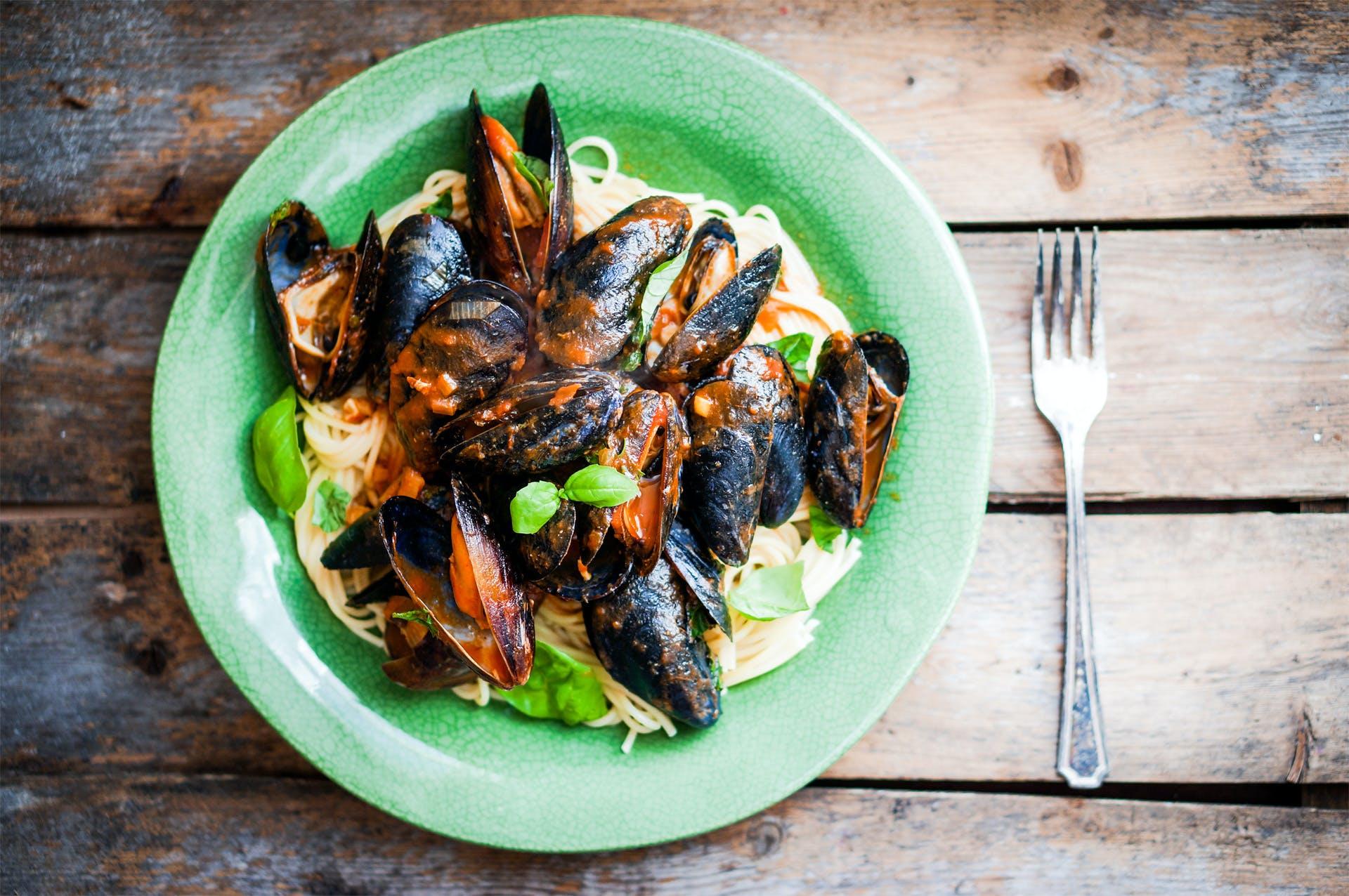 Mussel Linguine Image