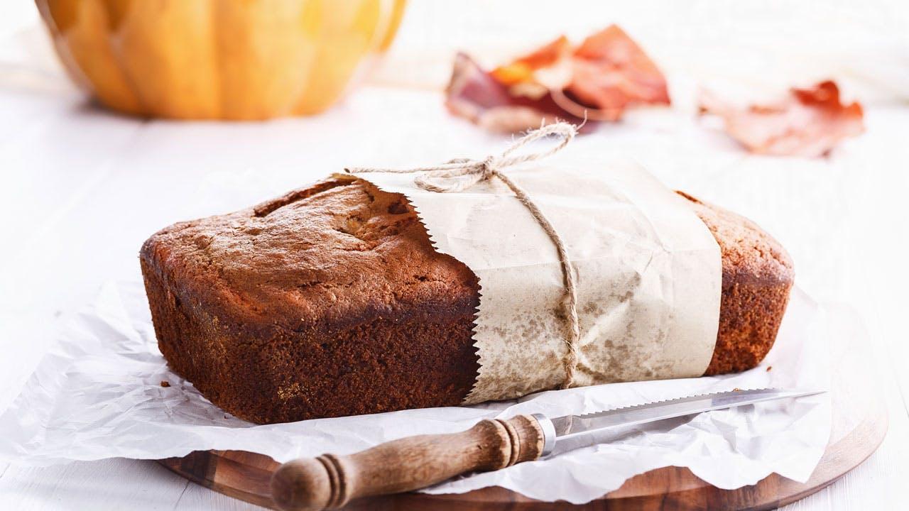Pumpkin Bread Image