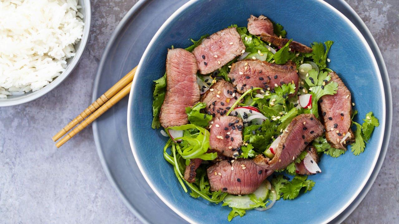 Asian Beef Salad Image