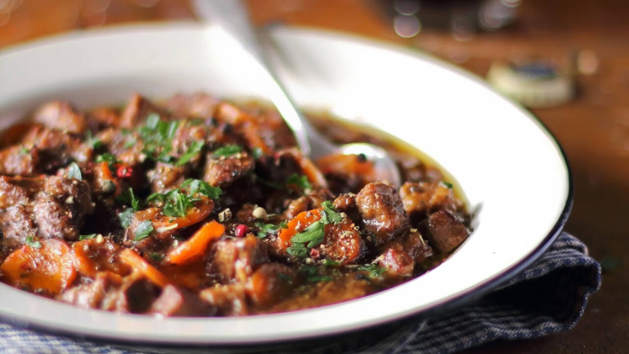 Beef & Butternut Squash Stew Image