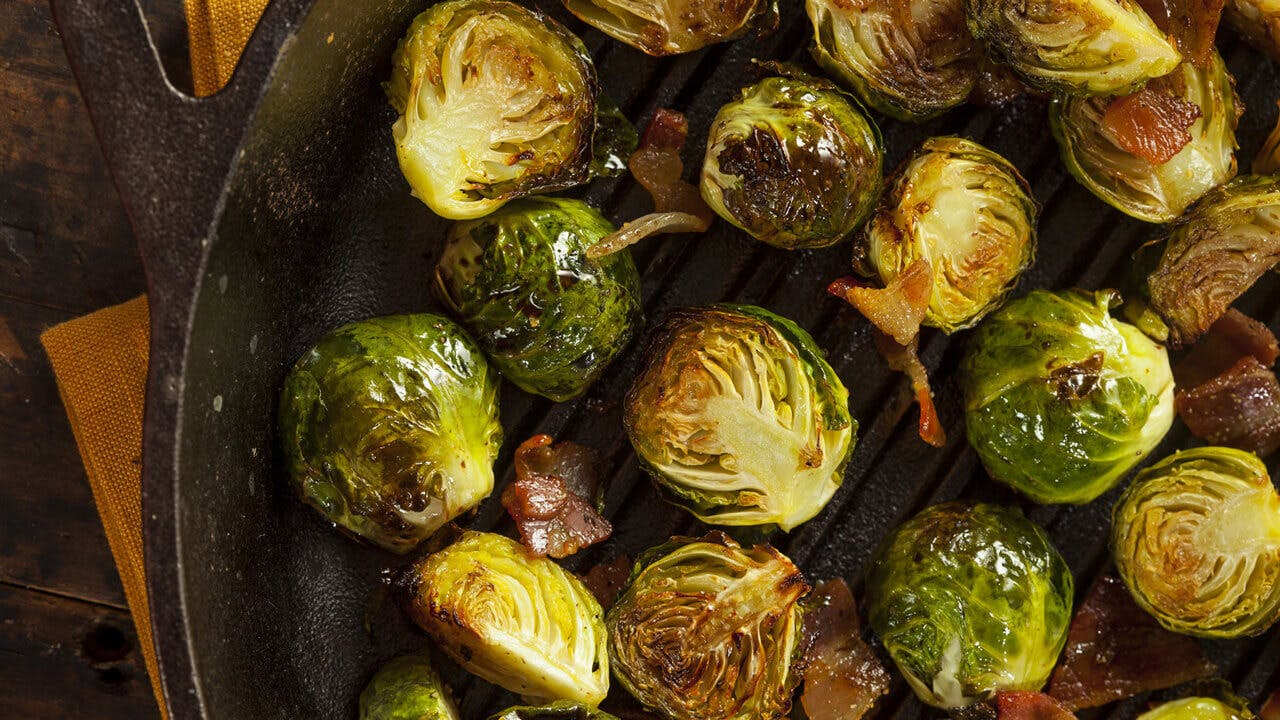 Sautéed Brussels Sprouts Image