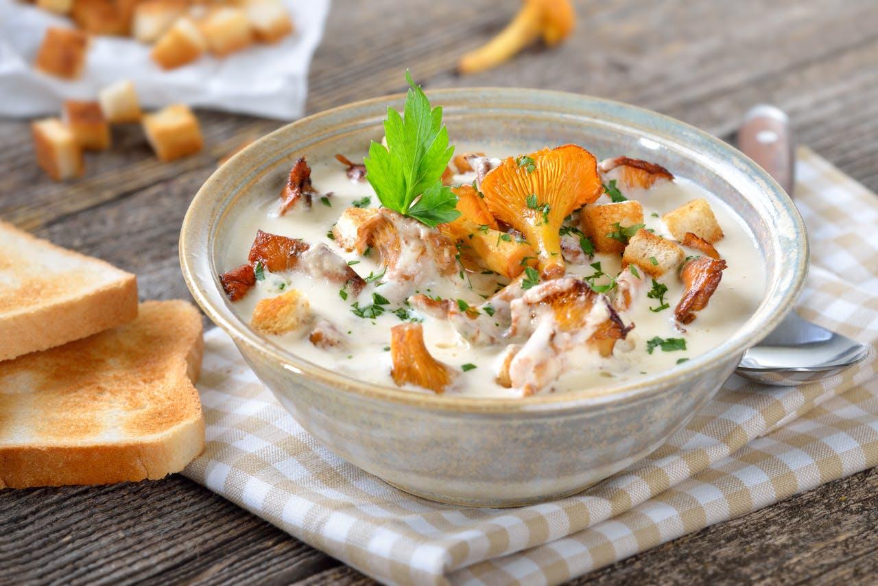 Creamy Chanterelle Soup Image