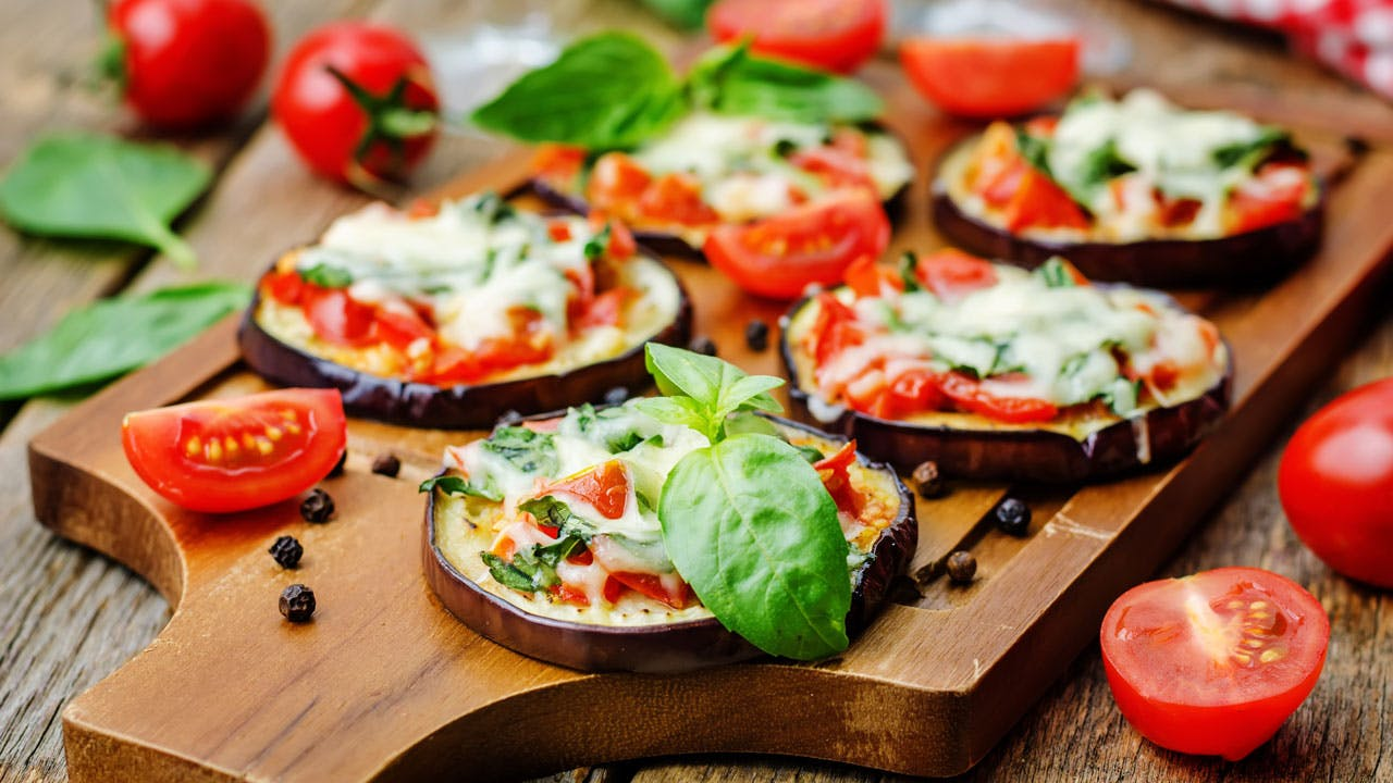 Eggplant Pizza Image