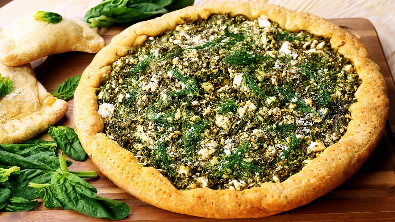 Greek Greens & Feta Pie