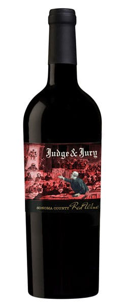 2014 Judge and Jury Red Wine Blend, Sonoma County, 750ml