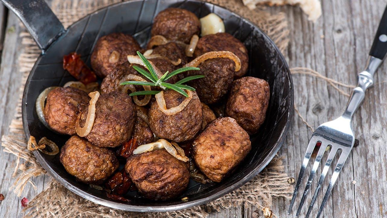 Lebanese Lamb Meatballs Image