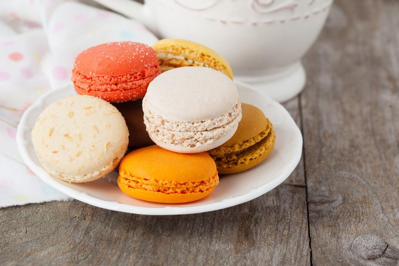 Pistachio Macarons Image