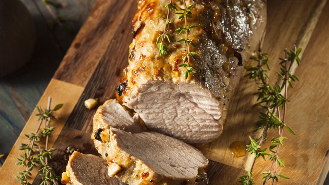Herb Roasted Pork Tenderloin Image