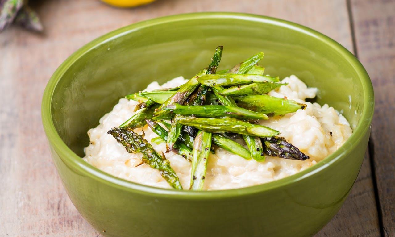 Asparagus & Lemon Risotto Image