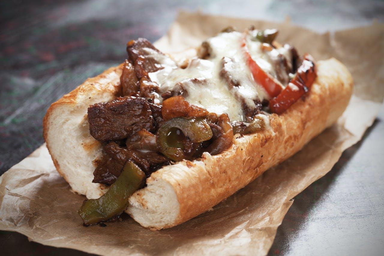 Goat Cheese Steak Sandwiches Image