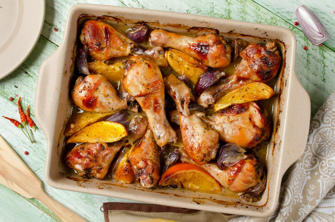 Citrus Marinated Chicken Image