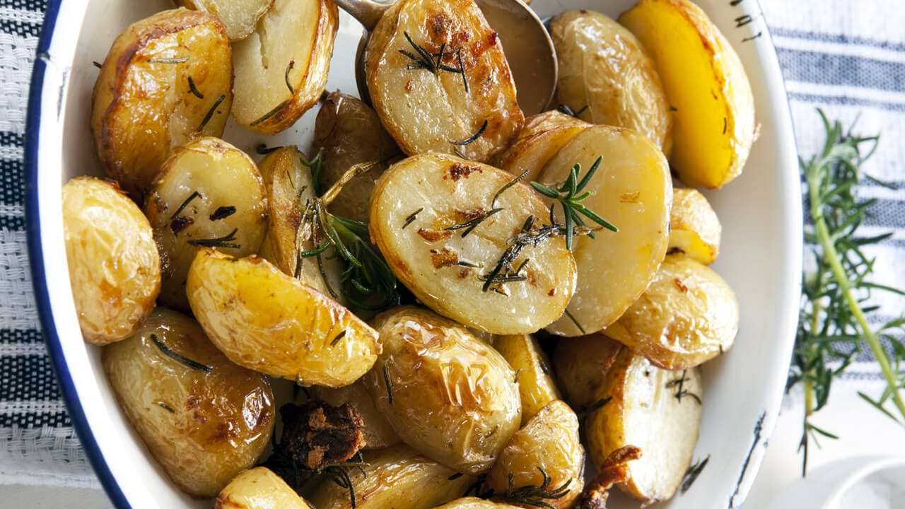Herb Roasted Baby Potatoes Image