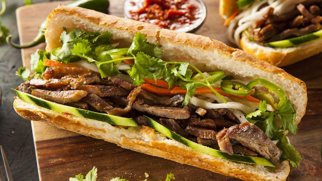 Pork Banh Mi Sandwiches