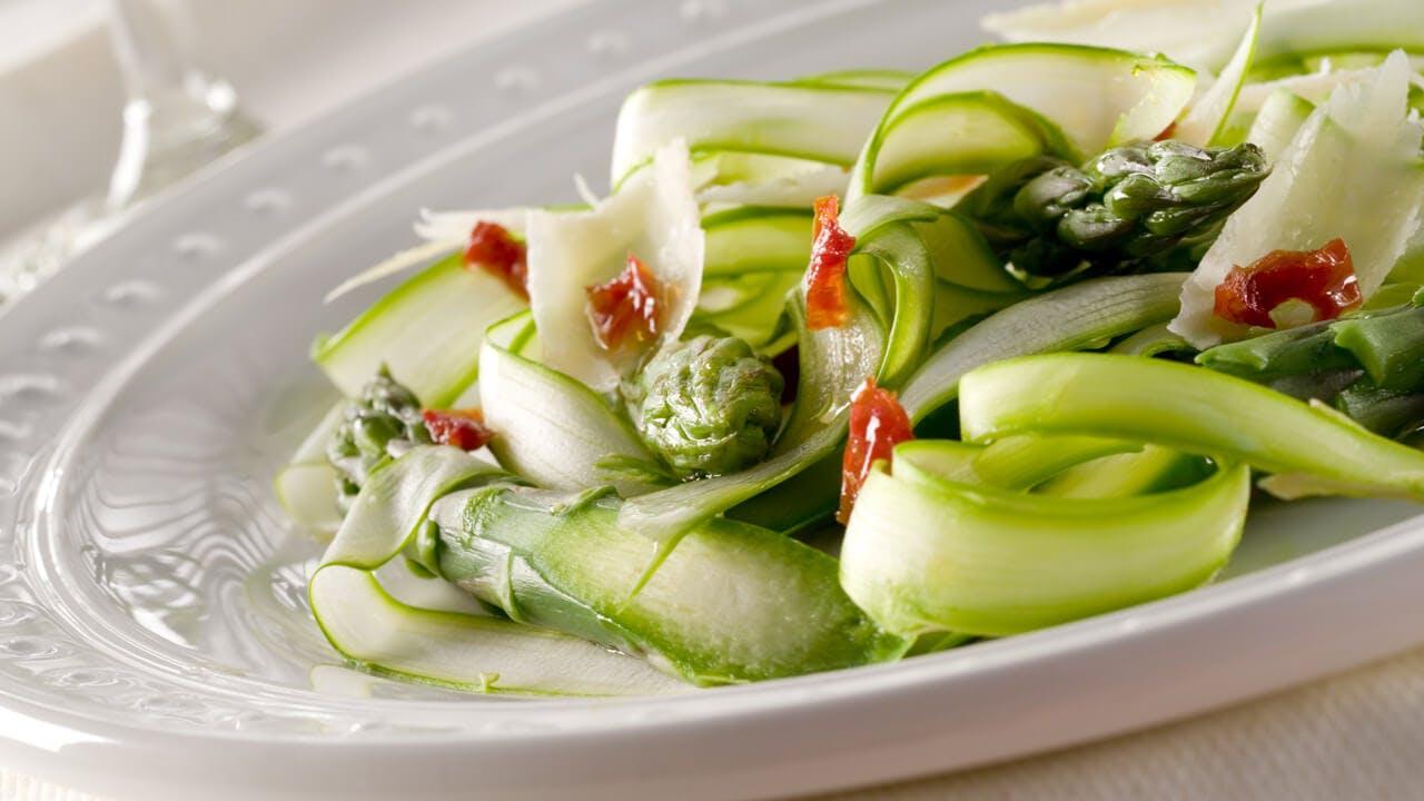 Shaved Asparagus Salad Image