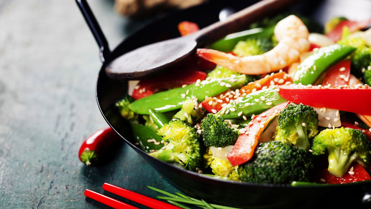 Spicy Vegetable Stir-Fry Image