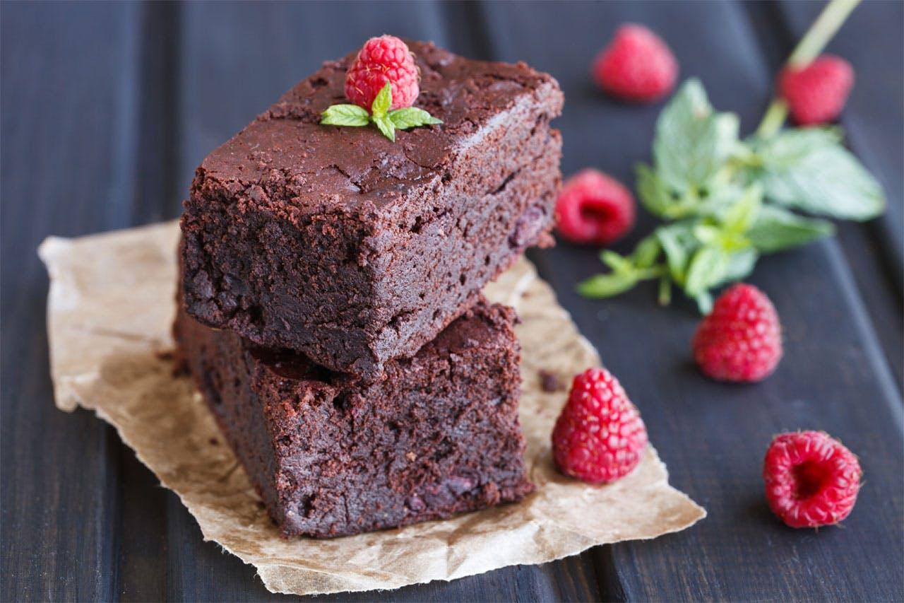 Red Wine Brownies Image
