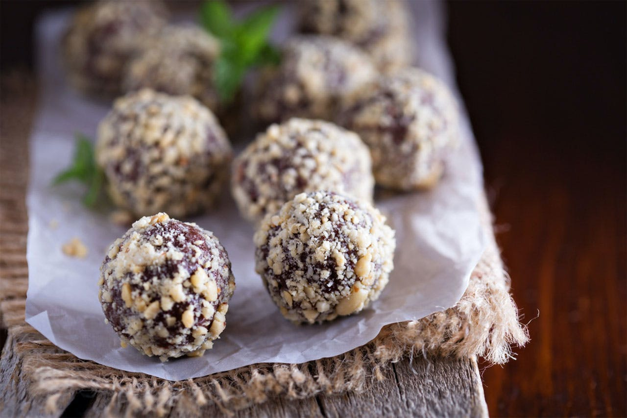 Spicy Chocolate Truffles Image