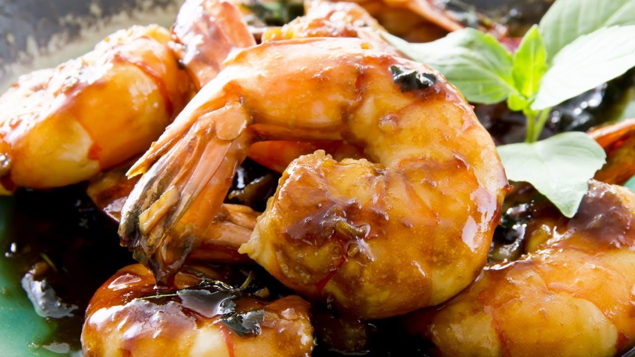 Grilled Teriyaki Shrimp Image