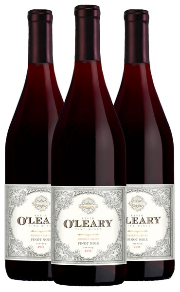 Kevin O'Leary Reserve 3-bottle Pinot Noir
