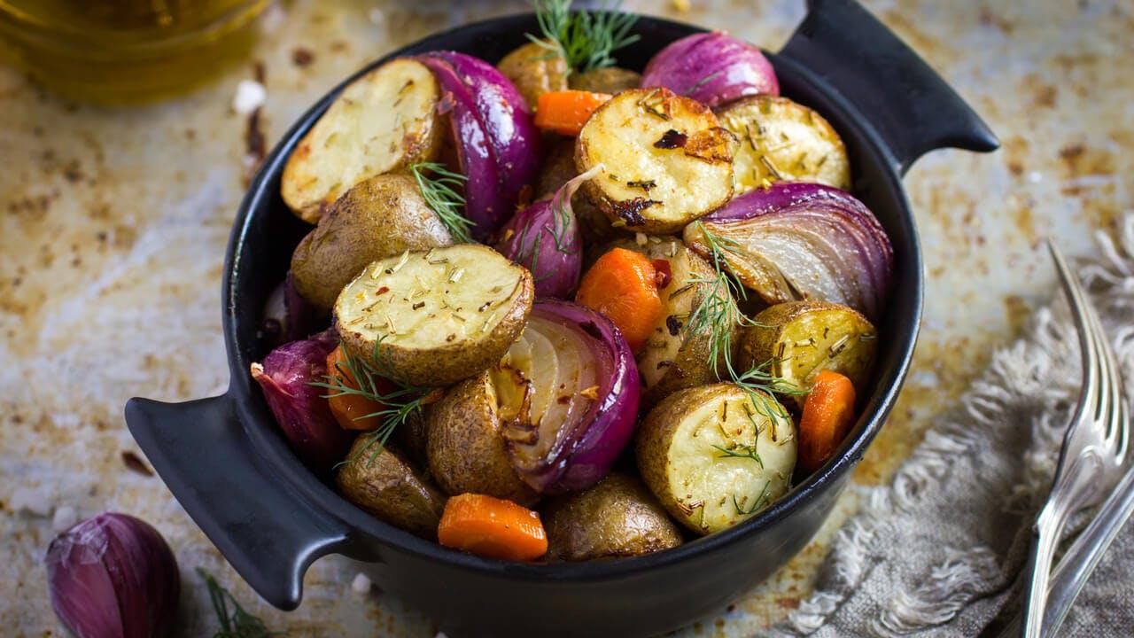 Roasted Autumn Vegetables Image