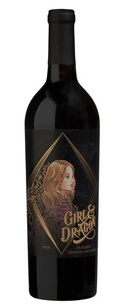 2016 Girl and Dragon Malbec, Argentina, 750ml