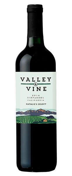2014 Valley & Vine Natalie's Select Zinfandel, California, 750ml