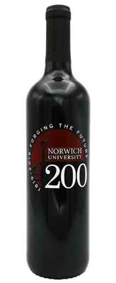 2016 Norwich University Cabernet Sauvignon, California, 750ml (Etched)
