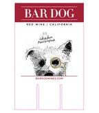 Bar Dog Red Wine Case Card
