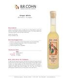 Ginger White Balsamic Vinegar, 200ml