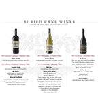 Buried Cane Wines Best Press 2017