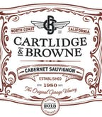 2013 Cartlidge & Browne Cabernet Sauvignon, North Coast