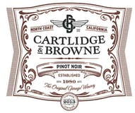 2013 Cartlidge & Browne Pinot Noir, North Coast