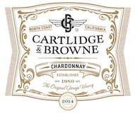 2014 Cartlidge & Browne Chardonnay, North Coast