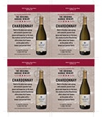 Original Garage Winery Chardonnay Shelf Talker