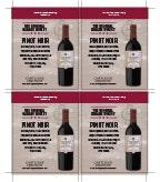 Original Garage Winery Pinot Noir Shelf Talker