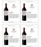 2013 Cartlidge & Browne Merlot - Sell Sheet