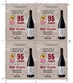 2014 Pinot Noir Shelf Talker - 95pts 4 up