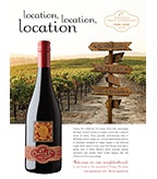 Cherry Pie Tri-County Pinot Noir: Full Page Ad