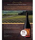 Cherry Pie Rodgers Creek Pinot Noir Sell Sheet