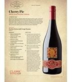 Cherry Pie Tri-County Pinot Noir: Food Pairing Piri Piri Chicken